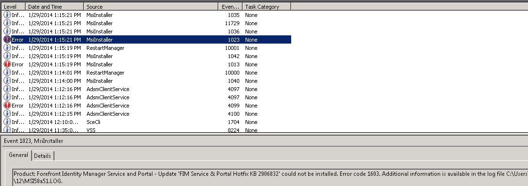 blizzard the application encountered an unexpected error no error code