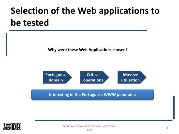 web application security assessment methodology