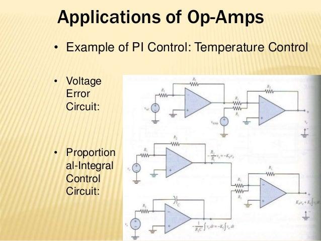 op amp application i o