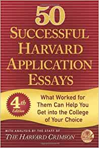 application essays that worked harvard