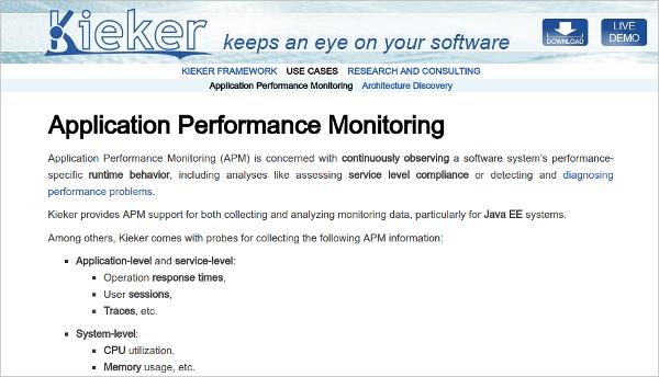 application performance monitoring tools net