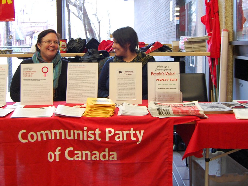 communist party of canada application