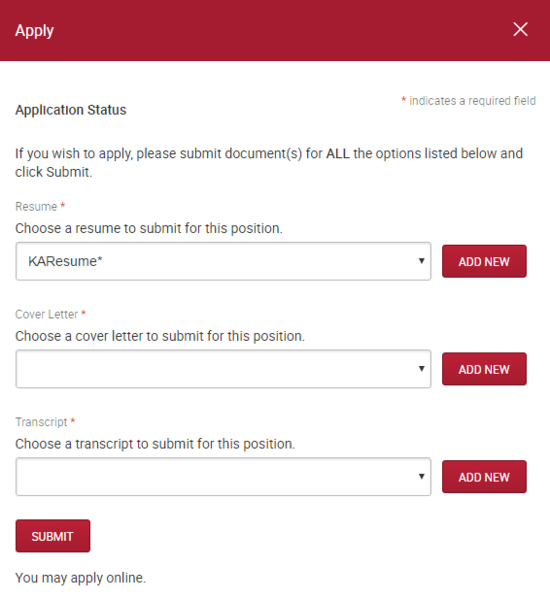 how to include unofficial transcript in job applications waterlooworks