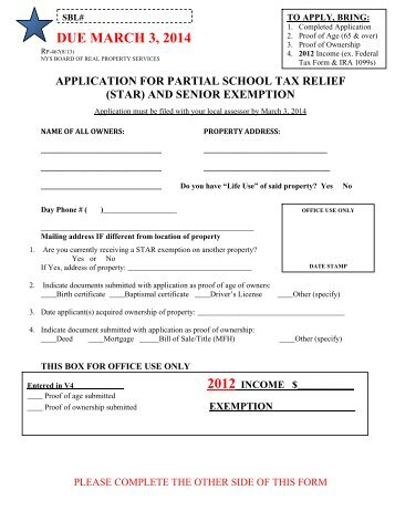 application for exemption of property taxes edmonton