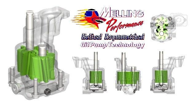 k417 oil pump kit application