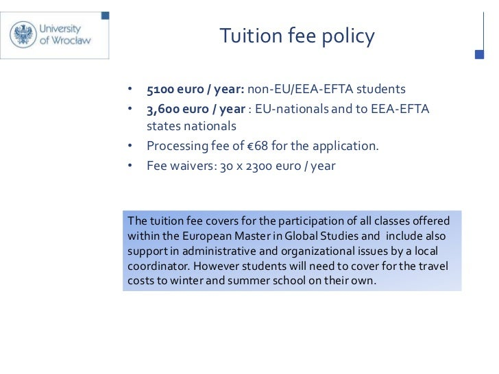 application for tuition fee support for eu students