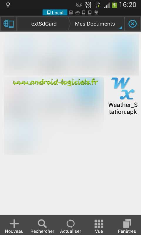 comment installer des applications sur une tele