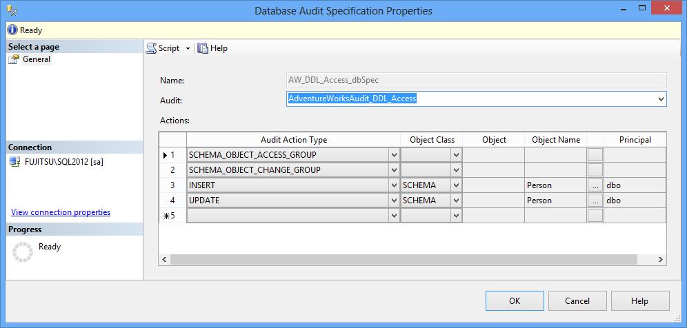 import data-tier application login failed