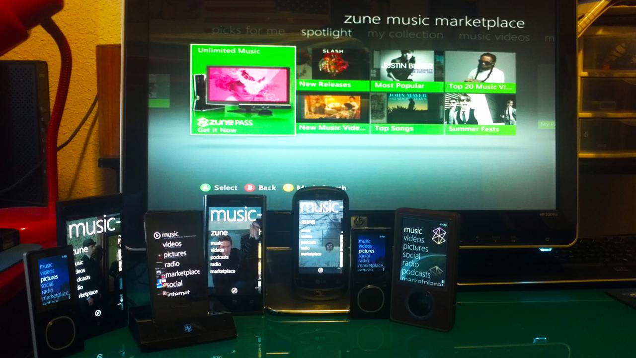 zune application for nokia lumia 800