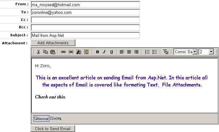 how to write a job application via email