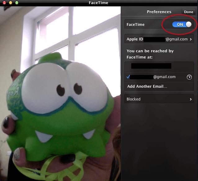 facetime application not responding mac