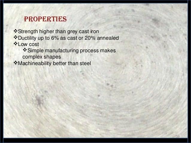 spheroidal graphite cast iron applications