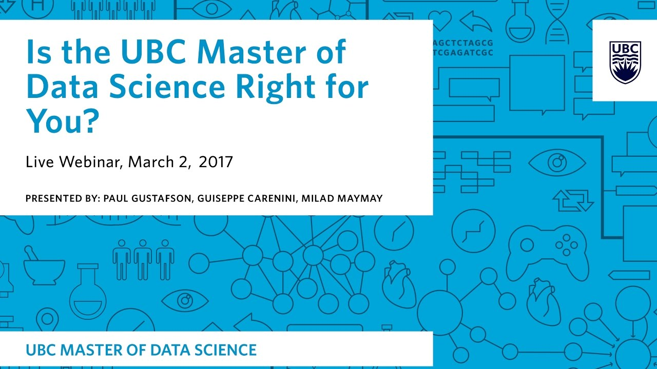 ubc master of data science application