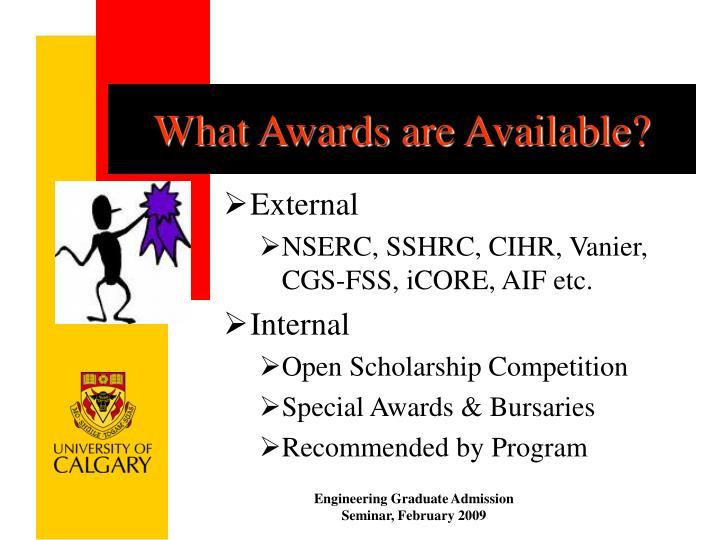 cihr nserc grad school application