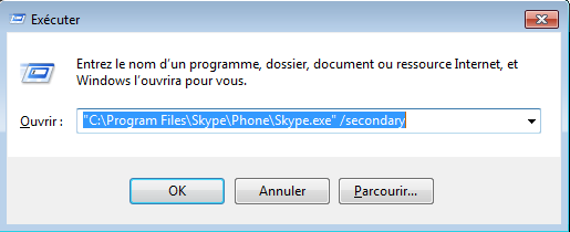 windows comment lancer application a ouverture