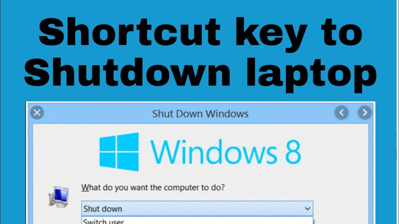 windows keyboard shortcuts closing applications