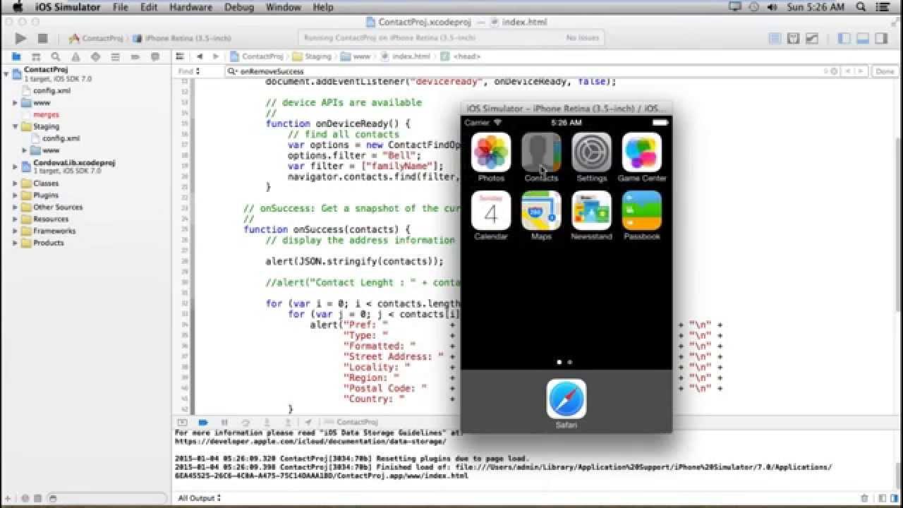 apple iphone application development tutorial pdf