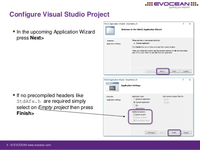 what is win32 application in visual studio