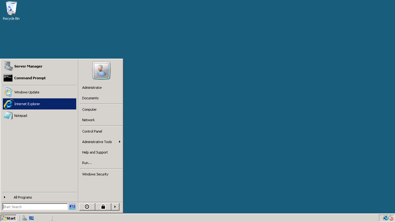 application run on stat windows7