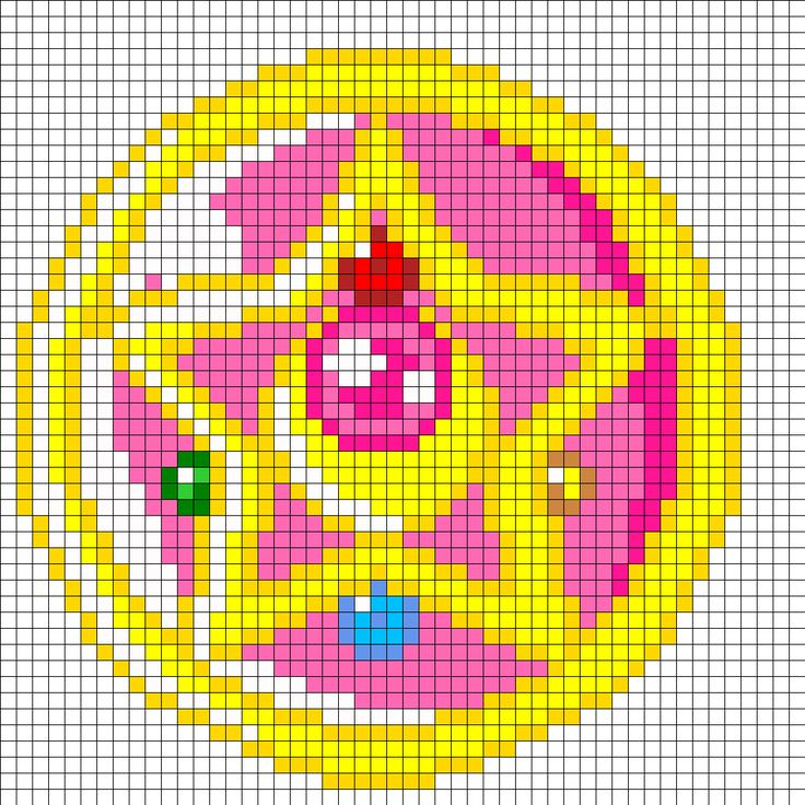 free crochet moon & star applique pattern