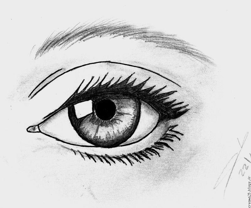 comment appliquer le crayon blanc pour les yeux