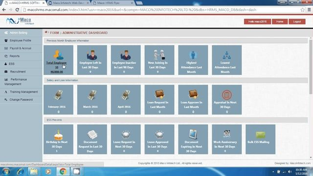 popular web based hr applications are
