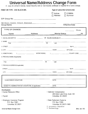 social security name change application illinois
