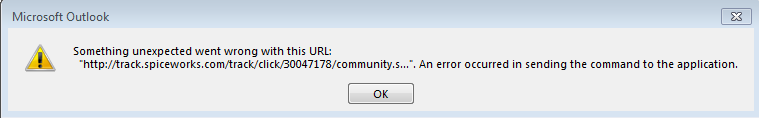 something unexpected went wrong with this url application not found