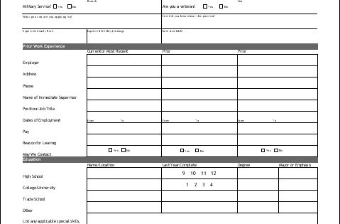 universal property management application form