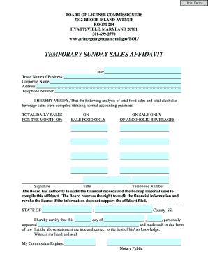 special permit liquor application pei