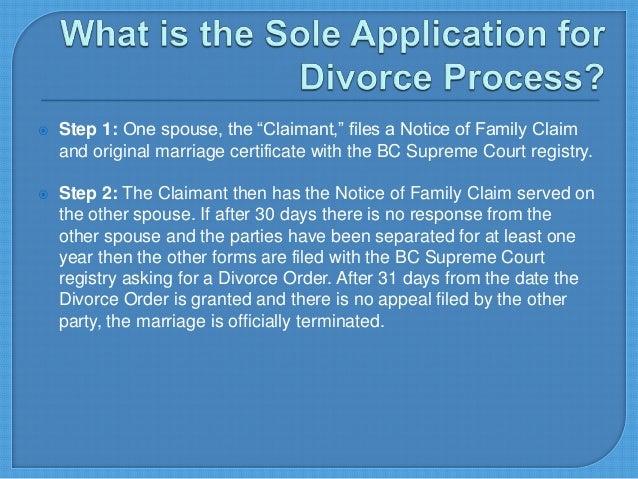 application response supreme court bc