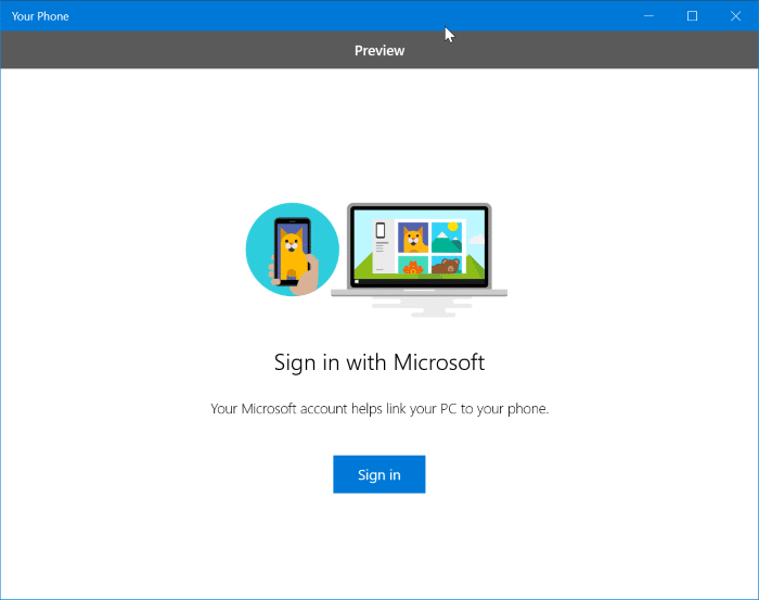 texting application for windows 10 computer