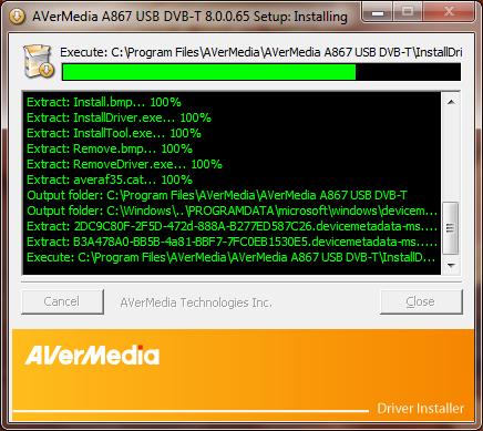 digital tv tuner device registration application uninstall