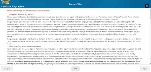 online job application form references