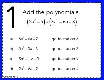 applications of adding and subtracting polynomials worksheet
