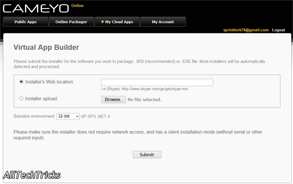 portable applications made with cameyo