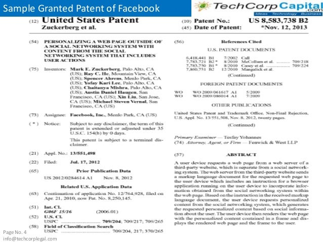 example of non provisional patent application