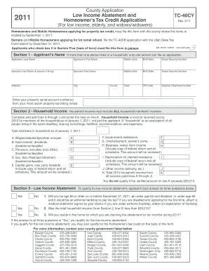 property tax abatement application utah