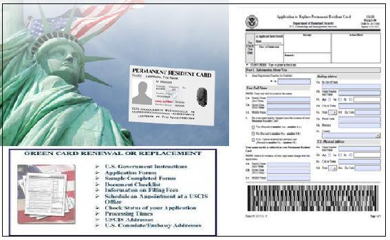 application for a resident card