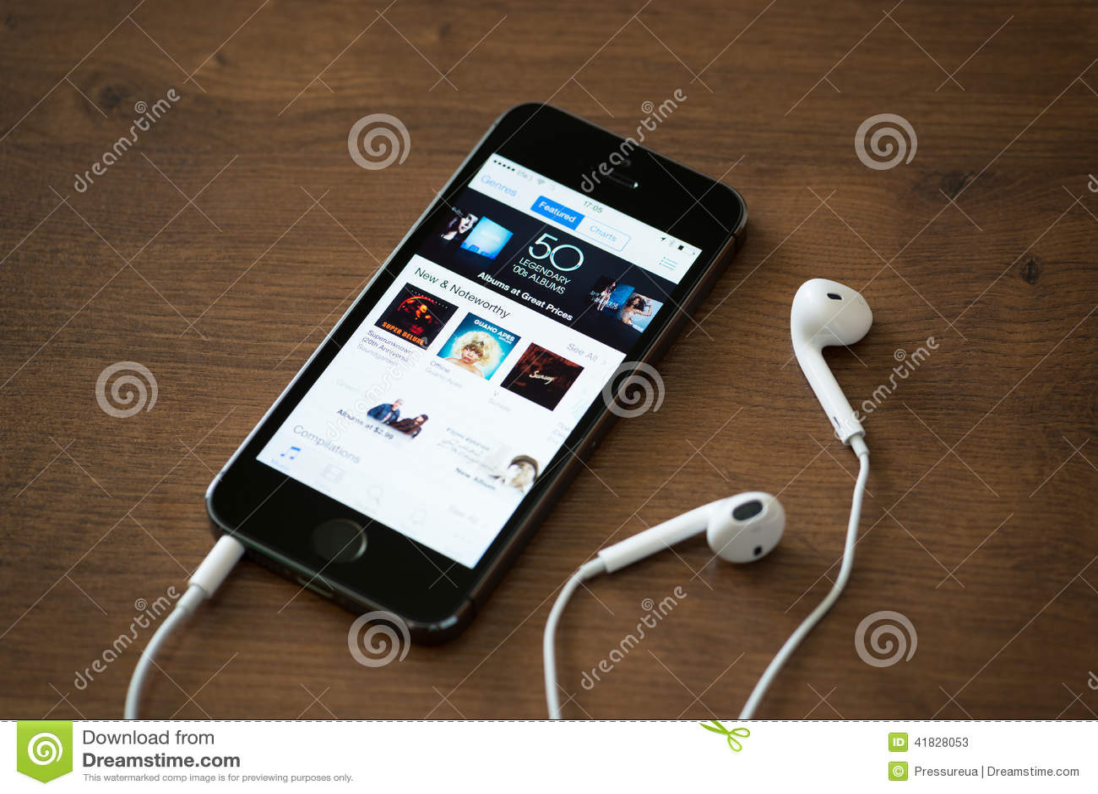 application iphone 5 musique gratuite
