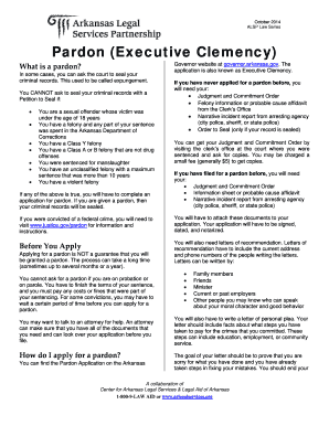 where to send pardon application