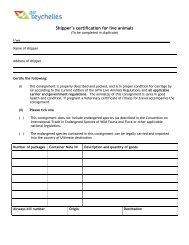 air seychelles job application form