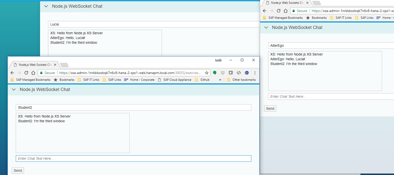 review chat applications written in node.js