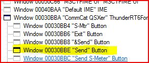 send msg from application to a dll