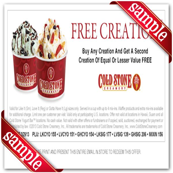 cold stone creamery online application
