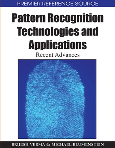 pattern recognition applications in society
