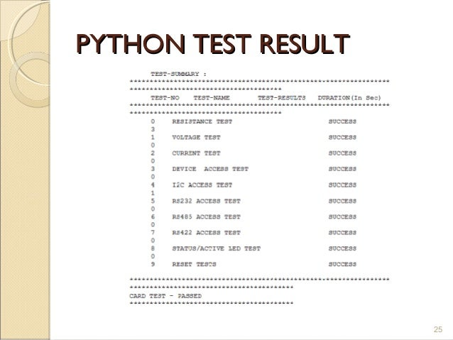 testing web applications with python