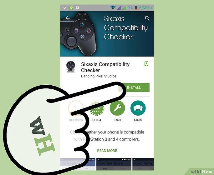 application android pour connection a un ps3