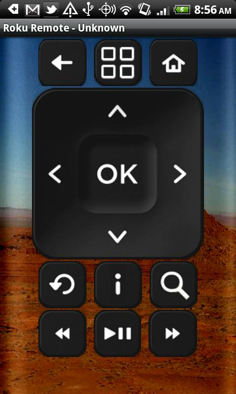 application android regarder video sur roku