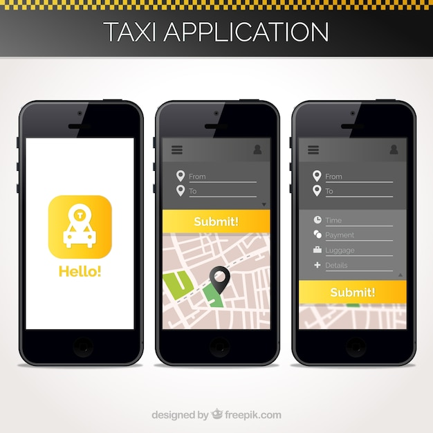 how to build mobile application template